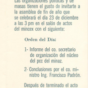 1969. Приглашение на празднование десятилетия Кубинской революции, часть 2