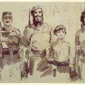 Они встали за свободу родины.