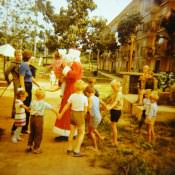 1985-1987. Офицерский городок в Торренсе.