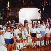 1985, Моа. Новогодняя елка