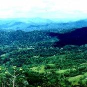 Горы Сьерра-Маэстра. 1983-1985. Вид с перевала. 3