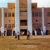 Сантьяго-де-Куба. 1983-1985. Казармы Монкада.