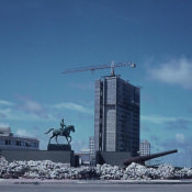 1967. Памятник генералу Каликсто Гарсиа