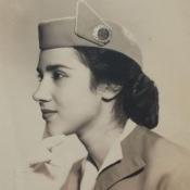 1940. Редкая Куба. Прекрасная девушка, стюардесса кубинских авиалиний.