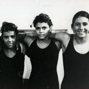 1960. Куба, группа женщин устанавливает новый рекорд заплыва