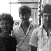 На балконе у Ирины Васильевны Ефремкиной. 15 мая 1987.