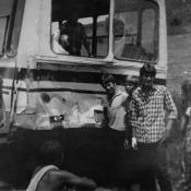 Авария при поездке в пионерский лагерь на острове Рауля. 1987 год