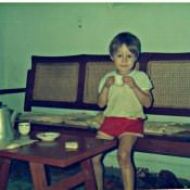 1987-1988. В квартире в Моа