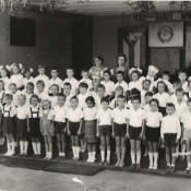 1985. Советская школа в Роло Монтеррей. 1 «А» и  1 «Б» классы