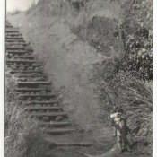 1985-1986. Спуск к берегу в Лас-Колорадас.