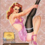 Ретро-плакаты и открытки в стиле Pin Up