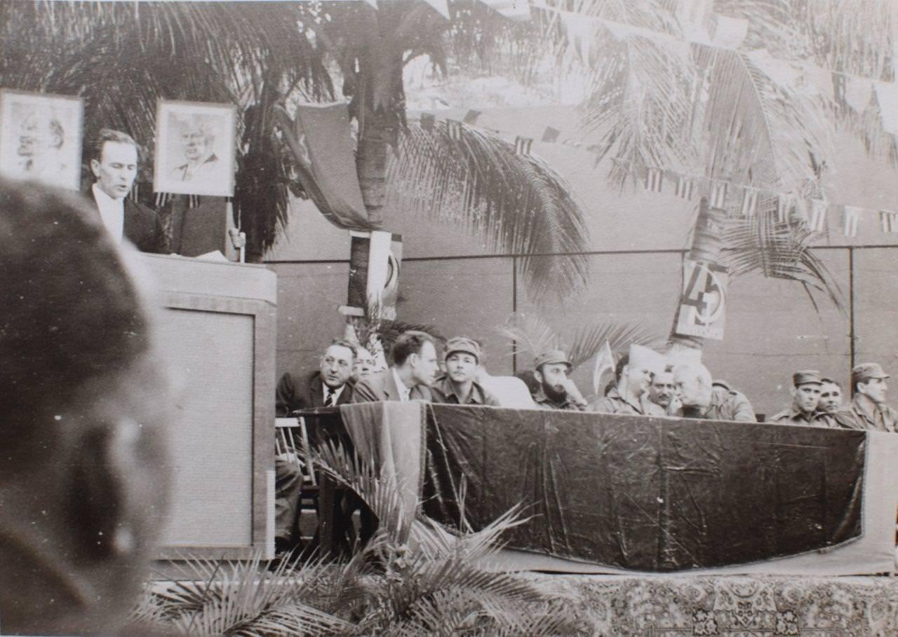 1962-11-06. На совещании, посвященном 45-летию Октябрьской революции.