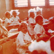 1987-1989. В школе