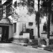 1975-1976. Штаб узла связи - второй этаж и приемный центр узла связи - первый этаж.