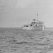 1965-04-15. Крейсер «Куба», мишень для стрель на острове Пинос, фото 2