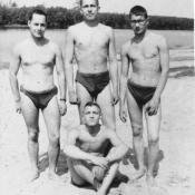 1965. На первом году службы в Гороховецких лагерях