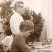 1963, 8 октября. Валентина Терешкова в Торренсе. Выступает посол СССР на Кубе А.И. Алексеев. Фото 3