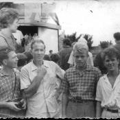 На встрече с Терешковой, июль 1963