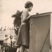 1963, 8 октября. Выступление Валентины Терешковой в Торренсе