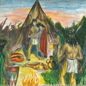 Из жизни индейцев, лист 7