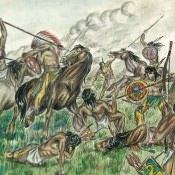 Из жизни индейцев, лист 9