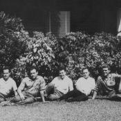 1963. В Торренсе, коллективное фото 1