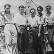 Лето 1963. Борт теплохода «Космонавт» в Гаванском порту.