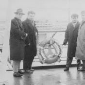 Январь 1964. Теплоход «Красноуфимск». Отправление из СССР на Кубу.