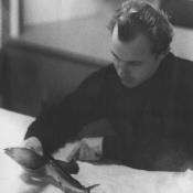 Январь 1964. Теплоход «Красноуфимск». Летающая рыбка.