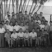 1964. В Торренсе, коллективное фото