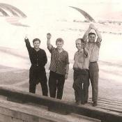 Проводы теплохода, 1963