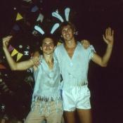 1985 год, елка