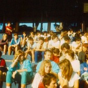1987 год, соревнования на стадионе Педро Мареро.
