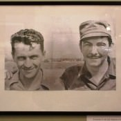 Командир 32 гиап Н.В. Шибанов и Рауль Кастро