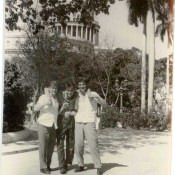 В Гаване вблизи Капитолия.