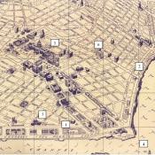 Карта – схема официального центра Гаваны.