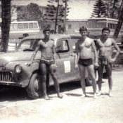 1978-1979. На пляже. Скорее всего, авторота.