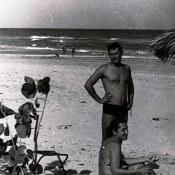 1981-1983. На пляже Санта-Мария