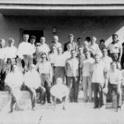 1967-1969. Военные советники, групповой снимок, Касабланка