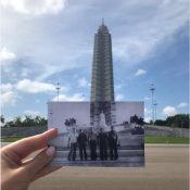 2019-10-ХХ. Площадь независимости на фоне снимка 1978-1979 годов