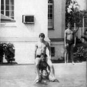 1985-1986. Бассейн в  «Чайке», фото 1