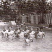 1985-1986. Бассейн в  «Чайке», фото 5
