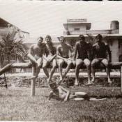 1985-1986. В клубе  «Чайка».