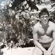 1988. Около бассейна