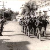 1983 осень - 1985 весна. Строевая подготовка
