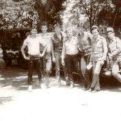 1983 осень - 1985 весна. Около «Волги».