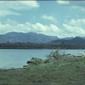 1974. Вид на Эскамбрай, горный массив на территориях провинций Вилья-Клара Сьенфуэгос Санкти-Спиритус