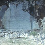 1975. Мраморный карьер, остров Хувентуд (Пинос)