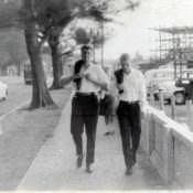 В Гаване, неподалеку от американских горок. 1963