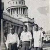Гавана. Капитолий. 1963 г. Я - слева